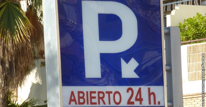 Parking Paseo del Altillo, Almuñécar.